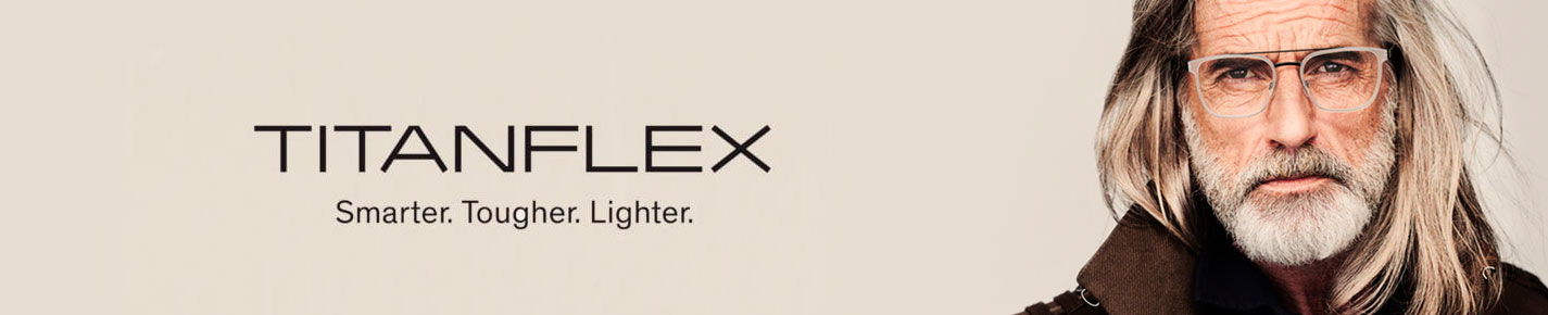 TITANFLEX Glasses banner