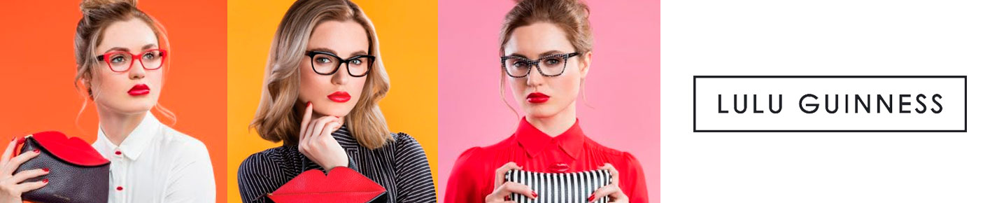 Lulu Guinness Eyewear Glasses banner