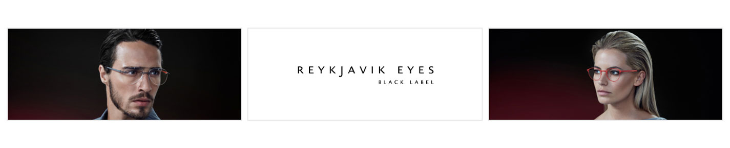 Reykjavik Eyes Black Label Brillen banner