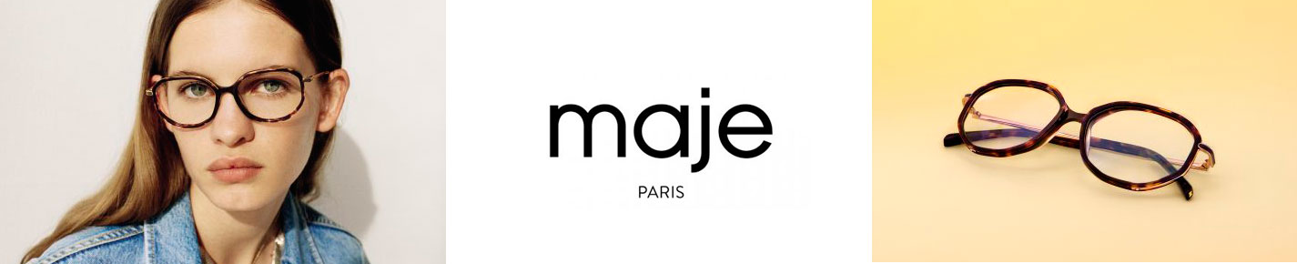 Maje Glasses banner