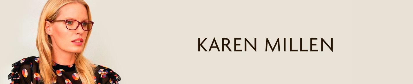 Karen Millen Eyeglasses banner