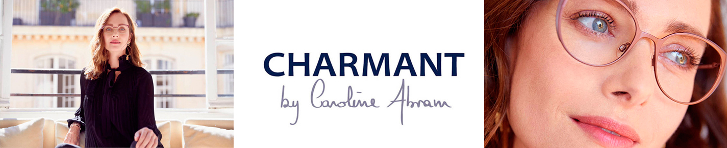 CHARMANT by Caroline Abram Glasses banner