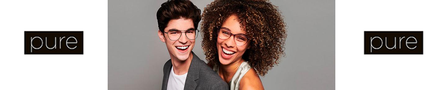 Pure Glasses banner