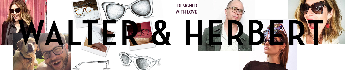 Walter and Herbert Eyeglasses banner