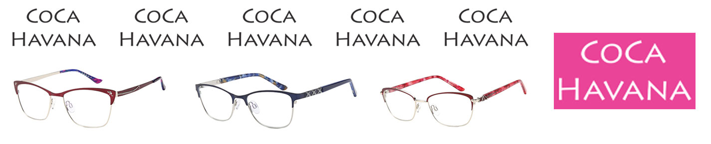 Coca Havana Glasses banner