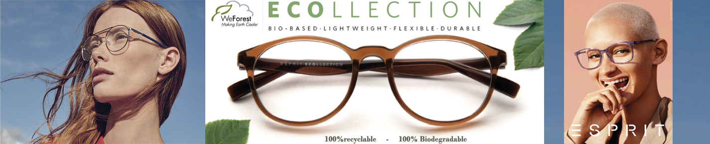 Esprit Ecollection Glasses banner