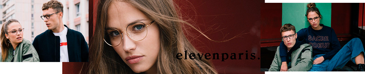 Elevenparis Glasses banner