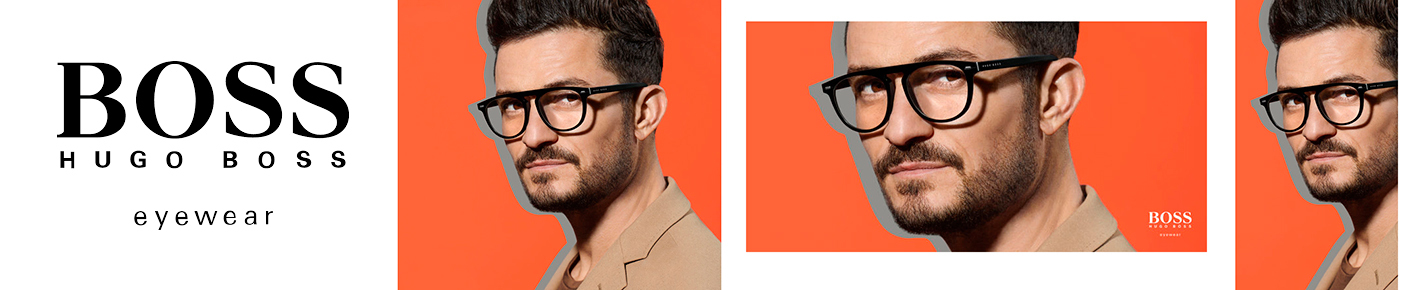 BOSS Glasses banner