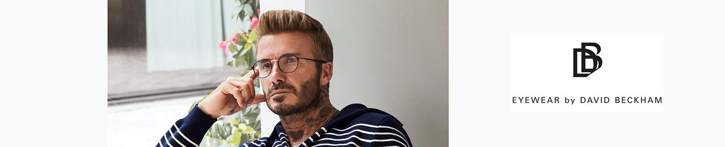 David Beckham Occhiali banner