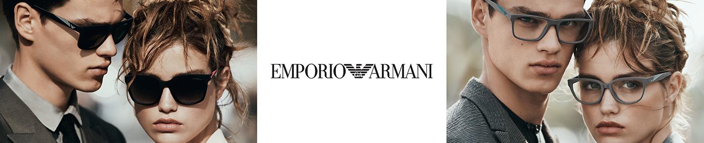 Emporio Armani Glasses banner