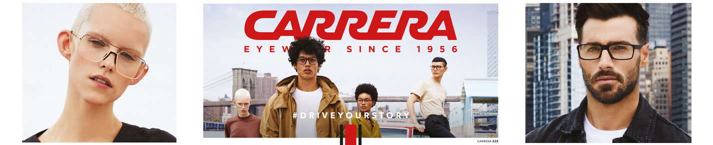 Carrera Glasses banner