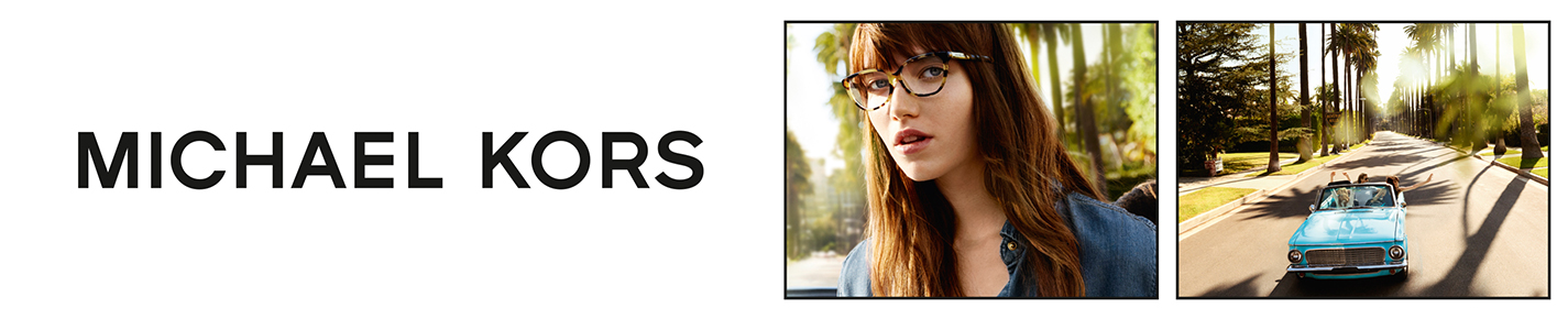 MICHAEL KORS Glasses banner
