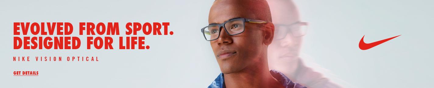 Nike Eyeglasses banner