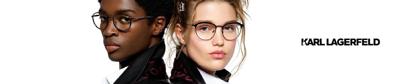Karl Lagerfeld Glasses banner