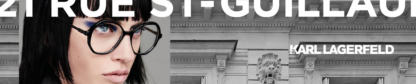 Karl Lagerfeld Gafas banner