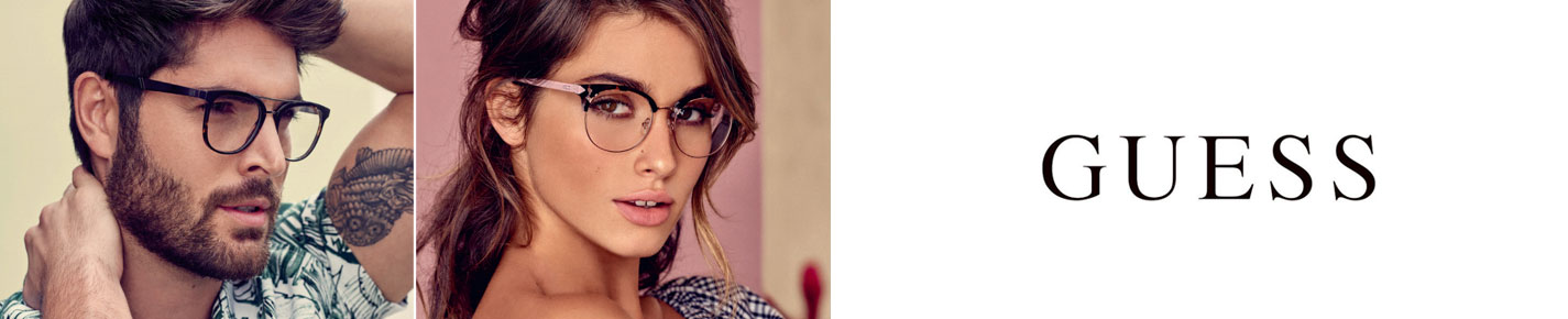 Guess Glasses banner