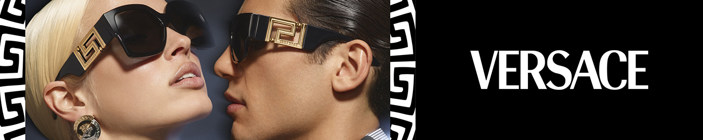 Versace Glasses banner