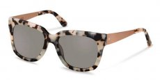 c black white havana/ rosé gold/ grey polarized