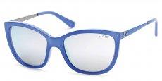 84C shiny light blue / smoke mirror