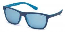 91X matte blue / blu mirror