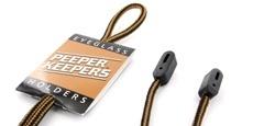 Optical accessories - Supercord Black/Tan Stripe Lanyard