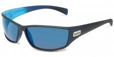 11693 MATTE BLACK/BLUE / HD POLARIZED OFFSHORE BLUE