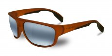 VL140200180636 Matt transparent amber / black, BLUE POLARLYNX