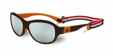 VL170200041223 Matt chocolat / orange (LITTLE GREY SILVER FLASHED)