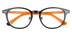 104 gloss black / orange