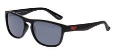 104 Matte Black / Orange (Solid Smoke)