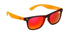 170 MATTE TORT / FLURO ORANGE / RED REVO