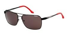 004 Matte black/red / Solid smoke