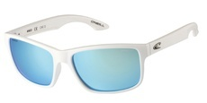 100P Gloss white / Blue revo - Polarised