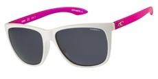 100 Gloss white/pink / Solid smoke