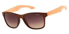 103P Matte brown/peach / Brown/peach grad -Polarised