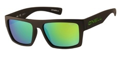104P Matte black / Solid brown/green revo- Polarised