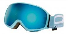 060606 Matte Aqua Blue (Lens: Blue Silver mirror, Strap: Aqua blue strap with White logo)