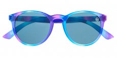 161 Gloss pink and blue Solid blue - Cat 3