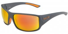 12601 MATTE COOL GRAY / HD POLARIZED BROWN FIRE
