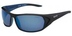 12031 Shiny Black/Blue/ Polarized Offshore Blue oleo AR