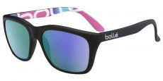 12051 Matt Black Bollé graphics / Polarized Blue Violet oleo AR