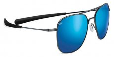 8205 SHINY DARK GUNMETAL/POLARIZED 555NM BLUE