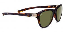 8329 Satin Dark Tortoise, Satin Brass Polarized 555nm