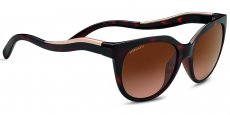 8572 SHINY DARK TORTOISE/ SATIN ROSE GOLD, POLARIZED DRIVERS GRADIENT