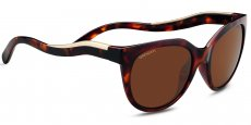 8573 Shiny red moss tortoise / Satin Champagne gold, Polarized Drivers