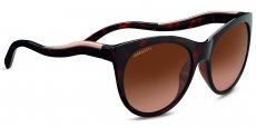 8567 SHINY DARK TORTOISE/ SATIN ROSE GOLD, POLARIZED DRIVERS GRADIENT