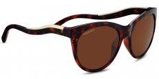 8568 Shiny red moss tortoise / Satin Champagne, Polarized Drivers