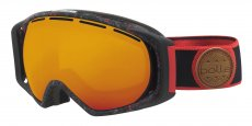 21458 GRAVITY BLACK & RED SPLATTER FIRE ORANGE Cat.2