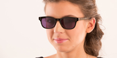Savannah - P2249 Shiny Black (Sunglasses)