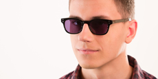 Savannah - P2249 Shiny Black (Sunglasses)